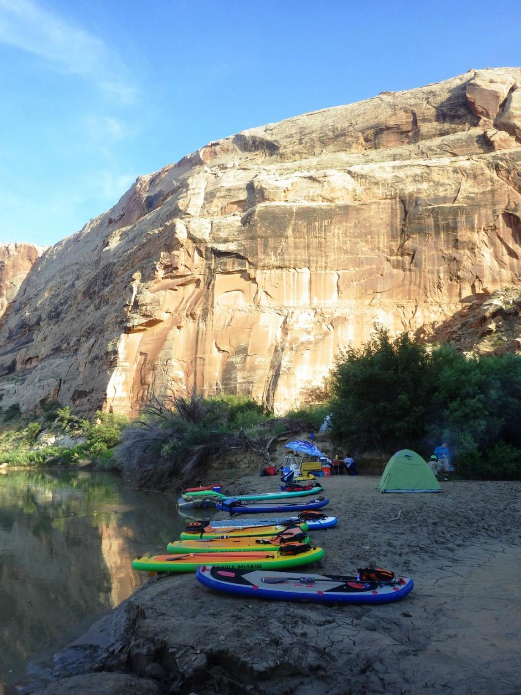 Paddleboard Camping Paddle Moab Day Tours Beach